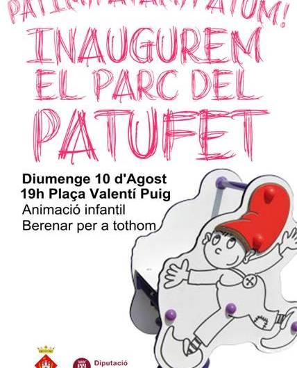 Les obres del parc del patufet a la plça Valentí Puig de Castellbell i el Vilar entren a la recta final