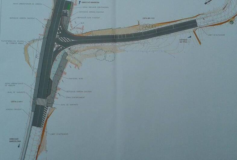 La Diputació lliura  un projecte d'infraestructures viàries locals a l´Ajuntament de Castellbell i el Vilar