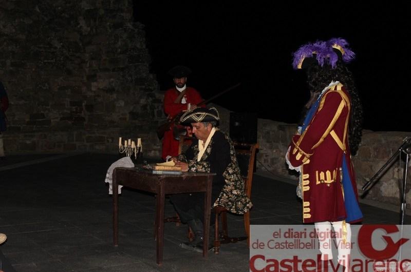 Acte institucional dels Resistents al Castell de Castellbell.
