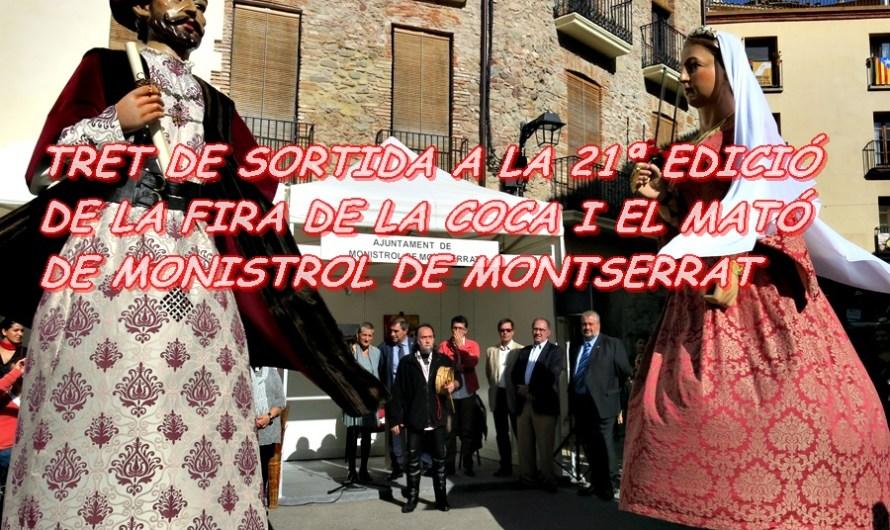 TRET DE SORTIDA A LA 21ª EDICIÓ DE LA FIRA DE LA COCA I EL MATÓ DE MONISTROL DE MONTSERRAT