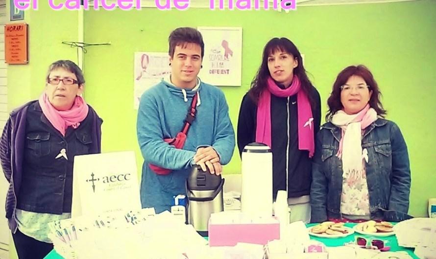 Castellbell i el Vilar celebra  el dia internacional contra el càncer de mama.