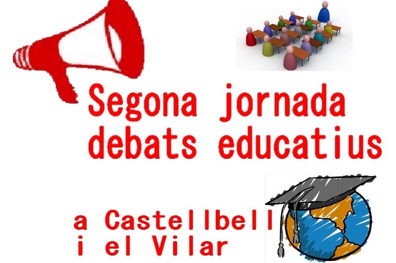Segona jornada debats educatius a Castellbell i el Vilar