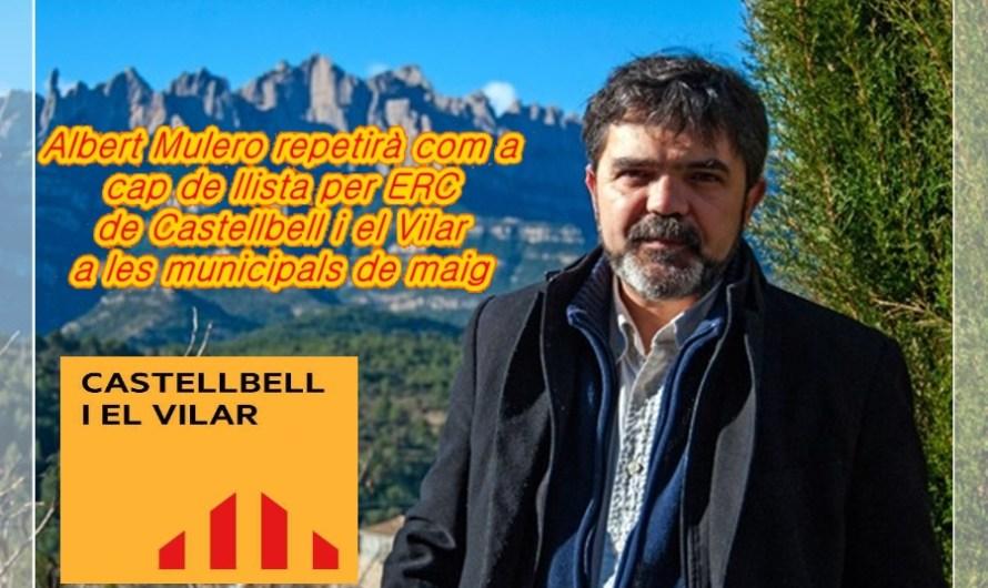 Albert Mulero repetirà com a cap de llista per ERC, de Castellbell i el Vilar, a les municipals de maig.