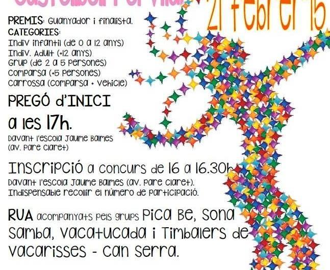 Carnaval a Castellbell i el Vilar : dissabte 21 de febrer