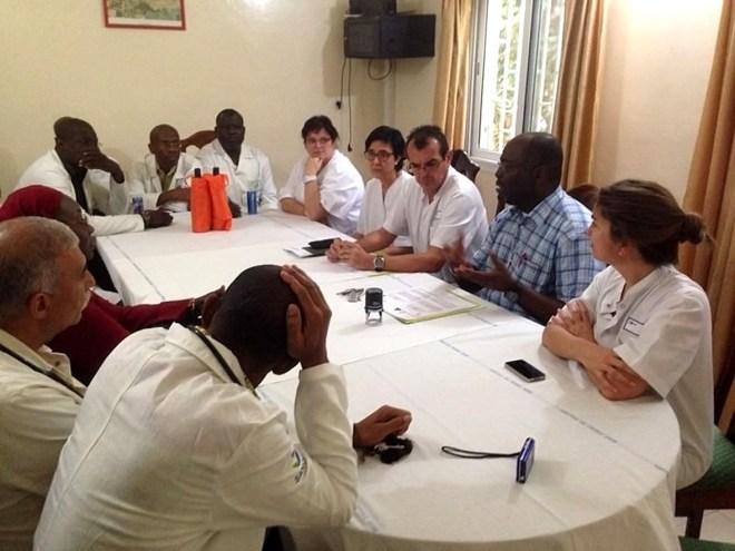 Acte de signatura del conveni de cooperació entre les dues institucions   Fotos : Althaia