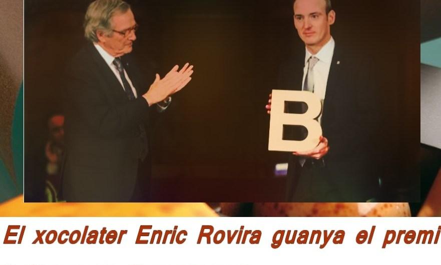 """El xocolater Enric Rovira guanya el premi  """" Ciutat de Barcelona """""""