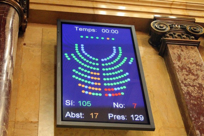 Foto : Parlament de Catalunya
