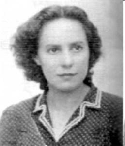 Maria Malla en la seva època de joventut