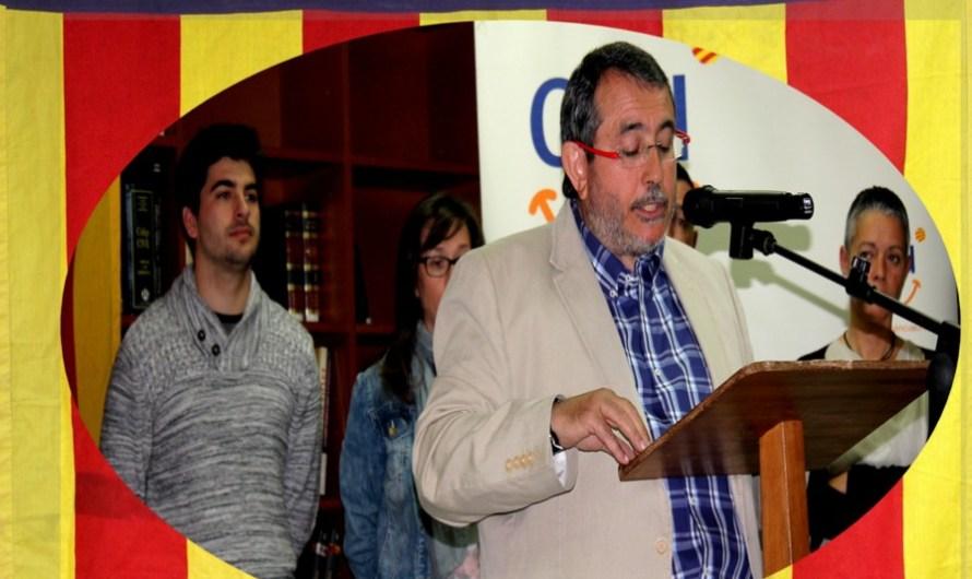 La presentació de la candidatura de CIU, de Castellbell i el Vilar, omple la biblioteca Maria Malla, del Borràs