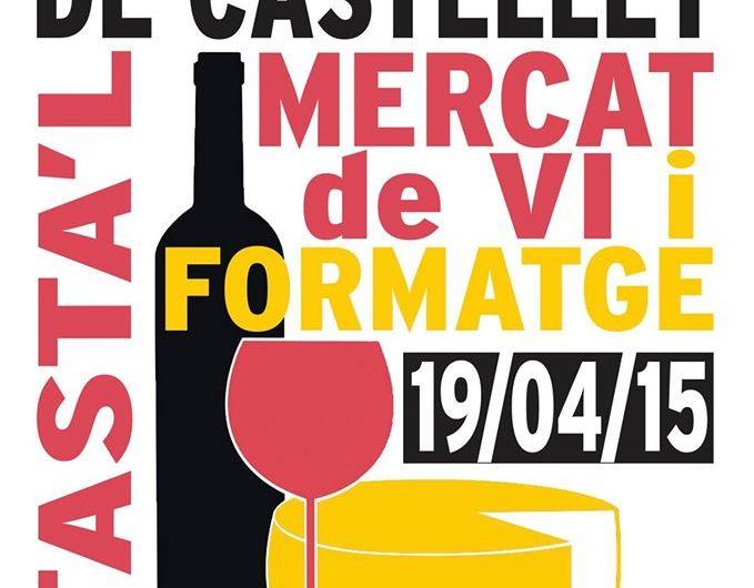 Tot a punt per a la celebració del segon Mercat de vi i formatge a Sant Vicenç de Castellet