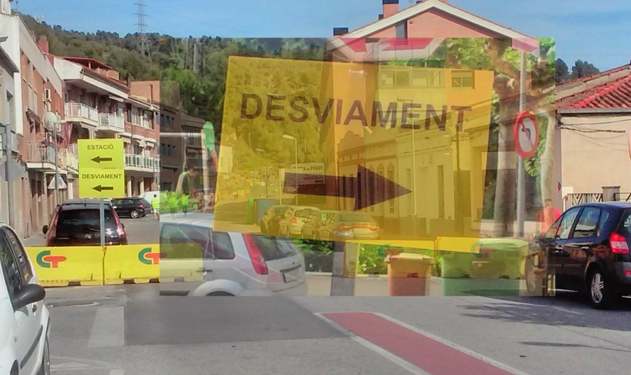 Desviaments «provisional» motiu obres Carrer Sant Jeroni (canvi rassant)