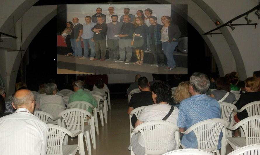 Gala d'entrega de premis, del CineFosc, a Monistrol de Montserrat.