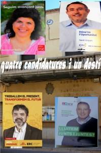Quatre Candidatures i un destí