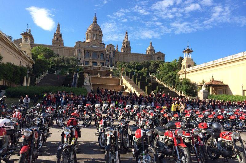 La cursa de la Impalada ( Montesa Impala ) passa aquest dissabte per Castellbell i el Vilar