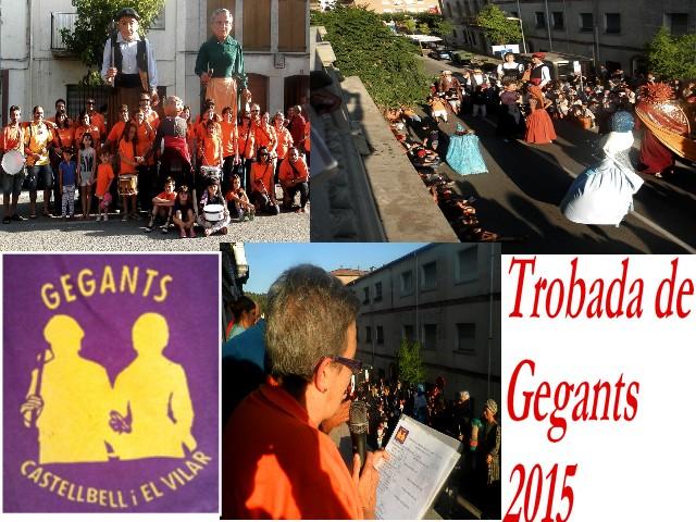 Set colles de gegants, a la vintena trobada gegantera de Castellbell i el Vilar