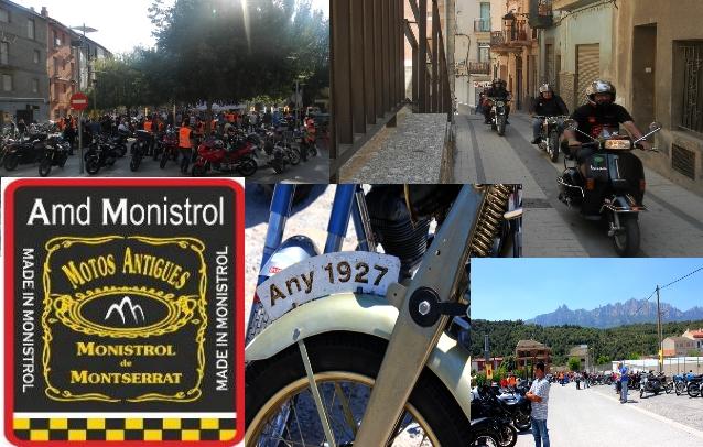 La XVI Trobada de motos antigues ( ruta dels portals) registra una alta participació