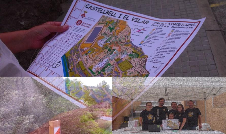 Circuit d'orientació a peu a Castellbell i el Vilar