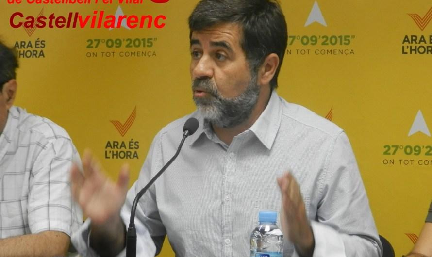 """ANC i Òmnium asseguren que """"Tenim el mandat democràtic per a la construcció de la República Catalana. No hi ha marxa enrere"""