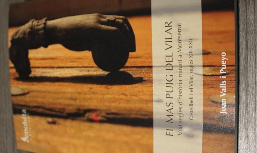 El Centre cultural Joan Masats de Castellbell i el Vilar, s'omple per la presentació del llibre sobre el « Mas del Puig«.