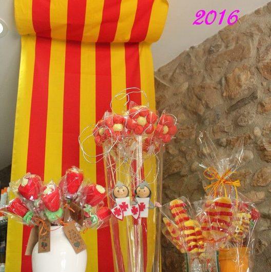 Castellbell i el Vilar  va celebrar el Sant Jordi amb un ambient primaveral.
