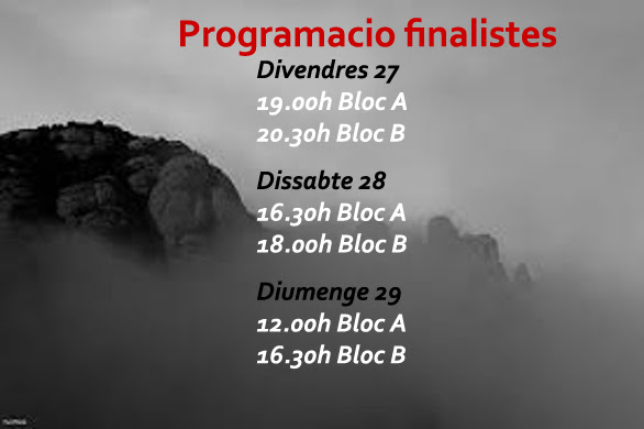 Cinefosc 2016 programa