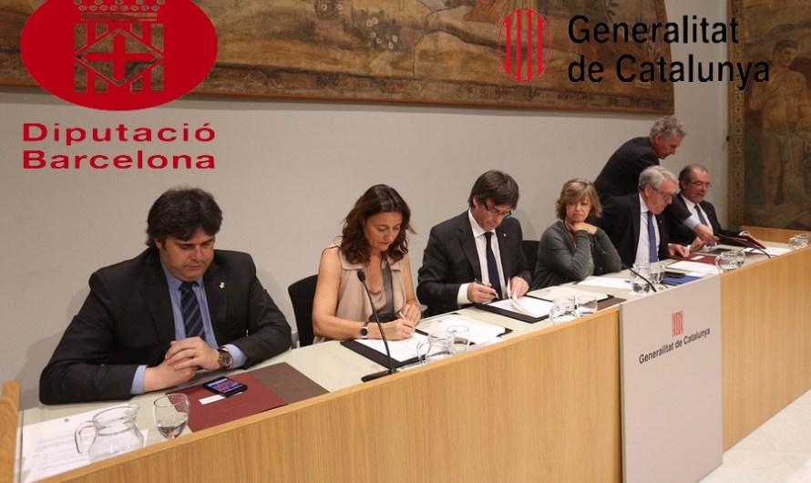 La Diputació de Barcelona avança als governs locals prop de 41 milions d'euros pendents de la Generalitat