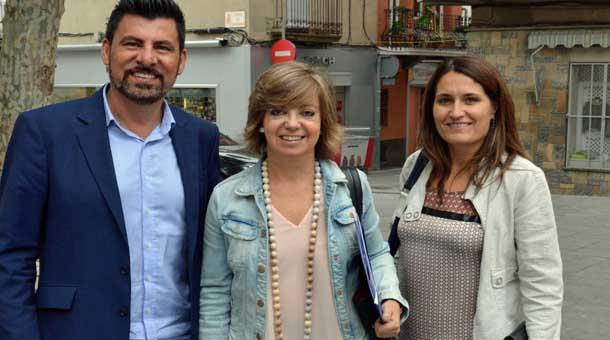 L'Ajuntament de Sant Vicenç de Castellet trasllada a la Generalitat la voluntat d'accelerar les obres del vial d'accés a la C-55