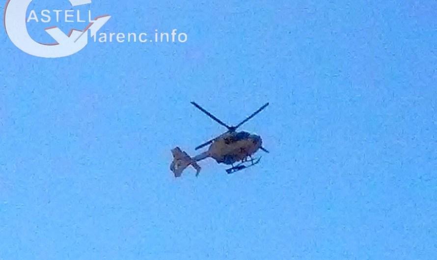 Una persona ferida greu en un accident de trànsit a la C-55 a Castellbell i el Vilar.