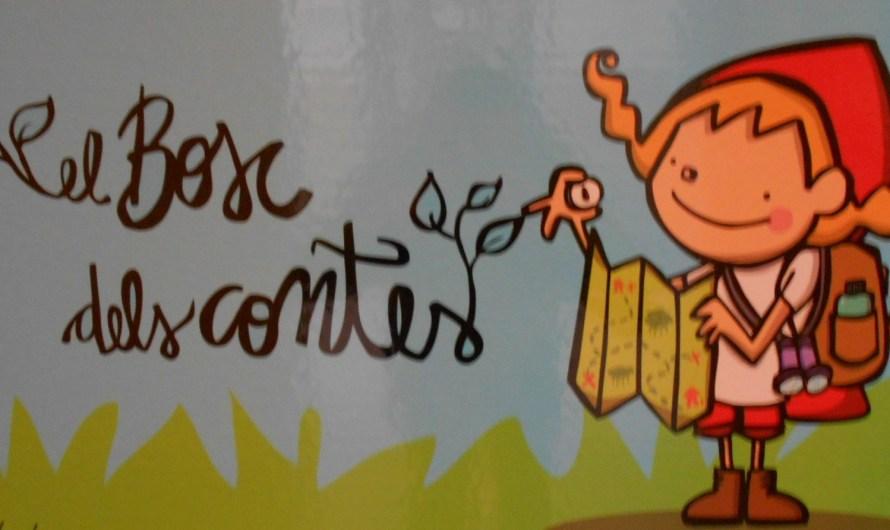 Les visites escolars animen l'exposició itinerant «El bosc de Contes a Castellbell i el Vilar»