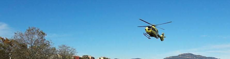 Mor un ciclista en un accident amb una furgoneta a la B-122 a Castellbell i el Vilar