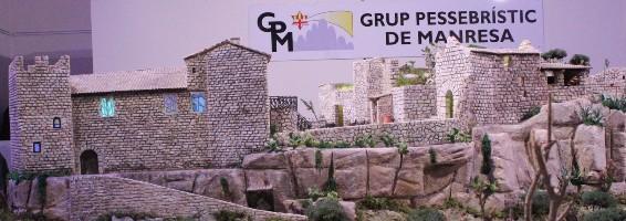 En pocs dies unes cinc mil persones ja han vist el pessebre monumental de Manresa dedicat al castell de Castellbell i el Vilar