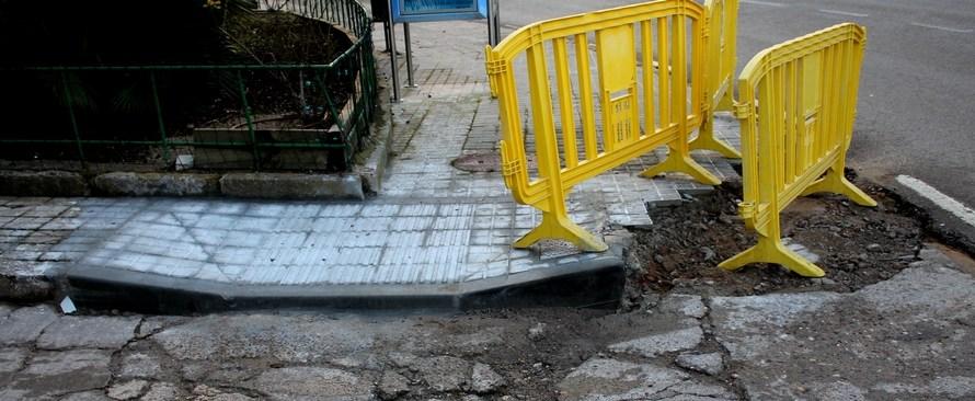 Castellbell i el Vilar comença a eliminar barreres arquitectòniques a les voreres.