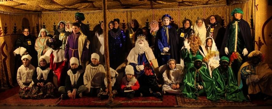 Els reis d'orient porten la seva màgia a Castellbell i el Vilar
