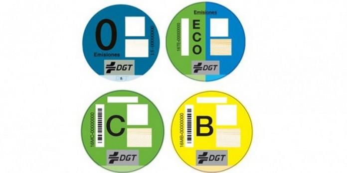 Que signifiquen les etiquetes d'emissions dels vehicles que reben els usuaris.
