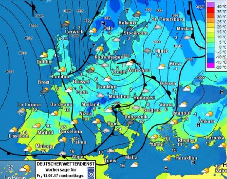 mapa-isobaric-previst-pewr-divendres-13