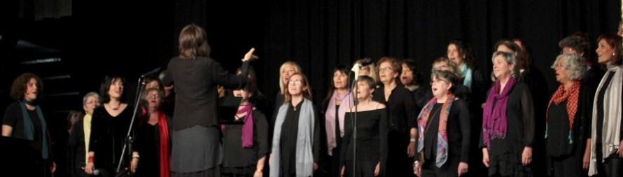Dones per la pau fan un concert a Castellbell i el Vilar, per posar «la pell de gallina»