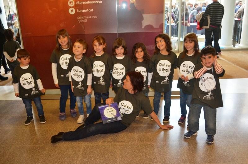 El Cor infantil de La Formiga, de Castellbell i el Vilar participa al Cantaxics 2017