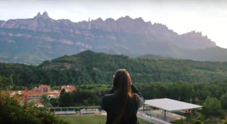 Castellbell i el Vilar, ara a un anunci publicitari.