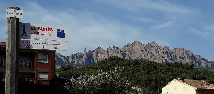Castellbell i el Vilar primer municipi de Catalunya que mesura les distàncies en Calories