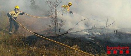 Un nou foc al Bages ara a Navarcles que està estabilitzat