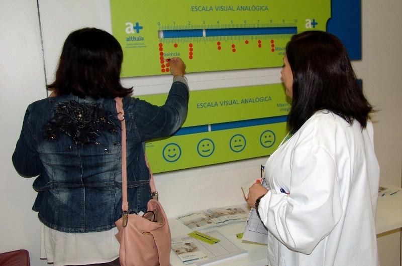 La Fundació Althaia de Manresa commemora el Dia Mundial Contra el Dolor amb activitats informatives