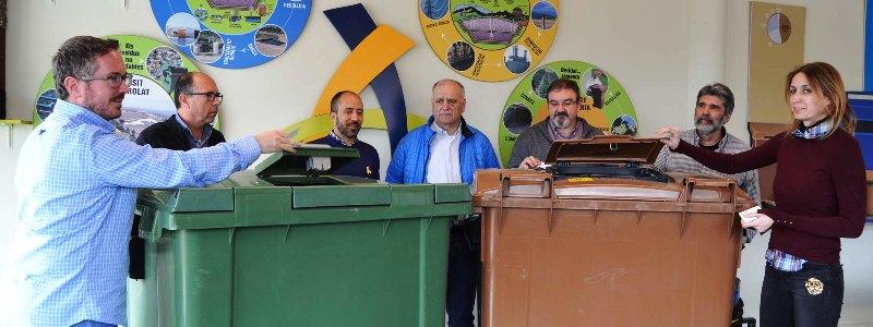Tres pobles del Bages faran una prova pilot amb contenidors amb control d'accés