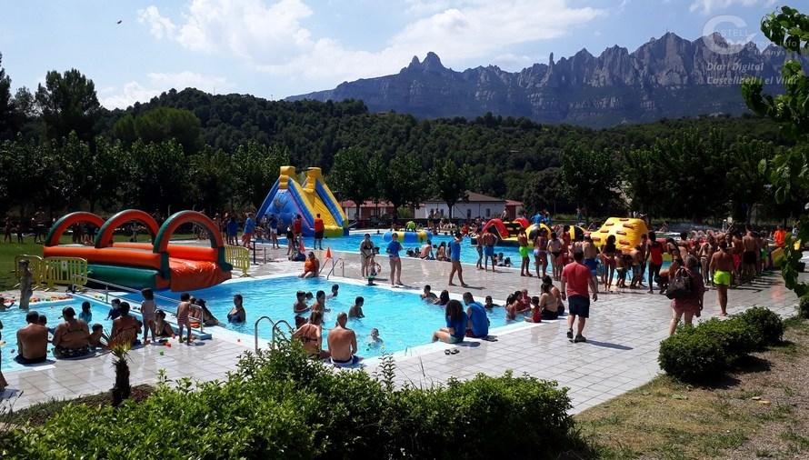 Castellbell i el Vilar recull l'opinió dels veïns i veïnes per estudiar l'obertura de la piscina municipal aquest estiu