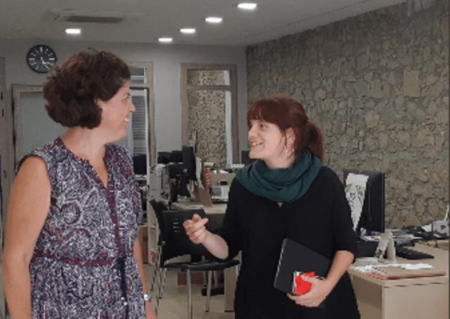 Visita Delegada Catalunya Central Ajuntament CIEV