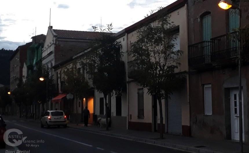 El Borràs torna a tenir llum al carrer.