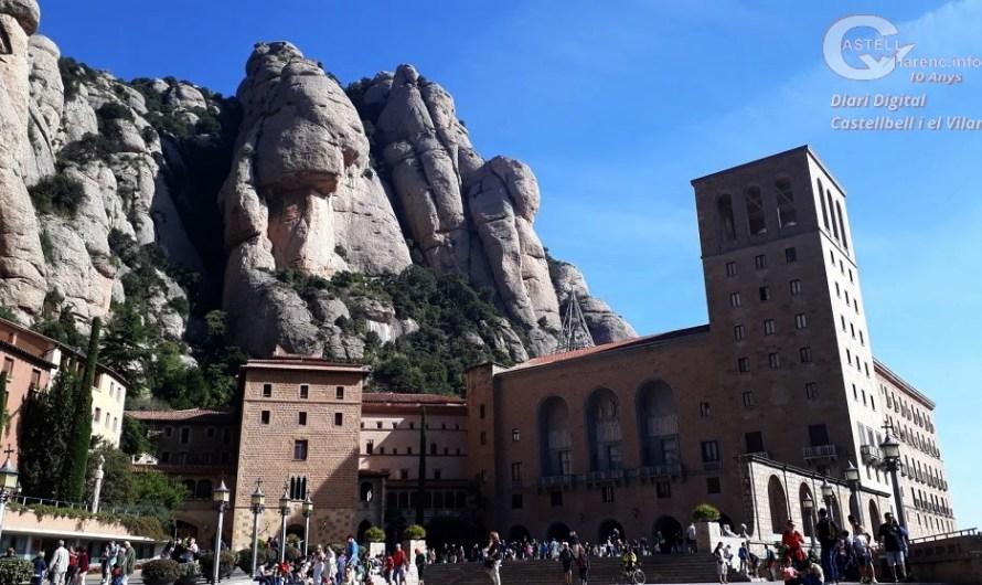 El Patronat de Montserrat denuncia l'obertura d'una via d'escalada sense permís