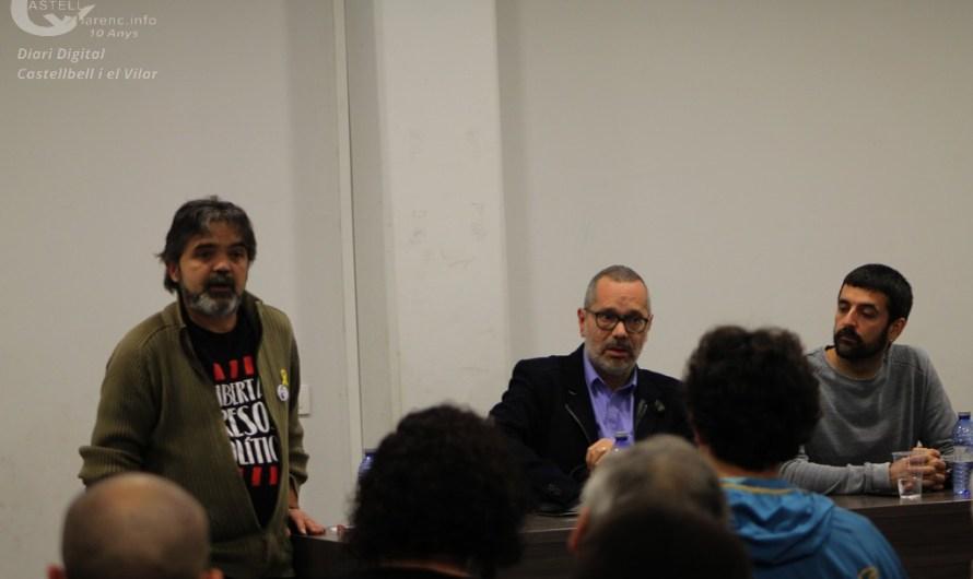 Els periodistes Jordi Borràs i Pere Fontanals omplen el Centre Cultural Joan Masats, de Castellbell i el Vilar.