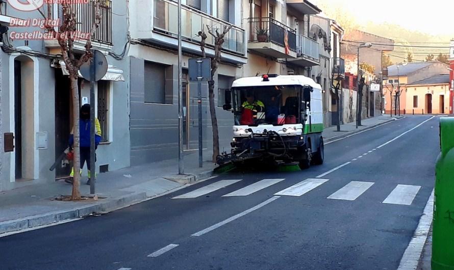 Castellbell i el Vilar estrena nou servei de neteja temporal.