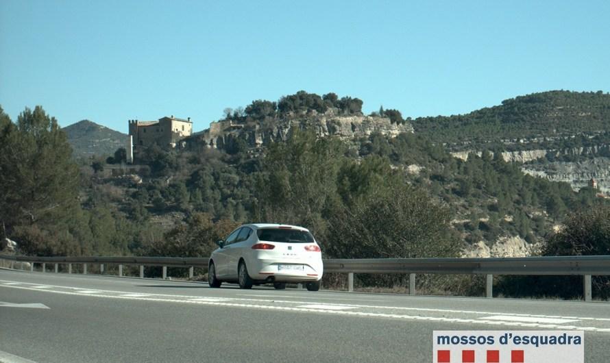 Els Mossos denuncien 40 conductors a Castellbell i el Vilar per excés de velocitat