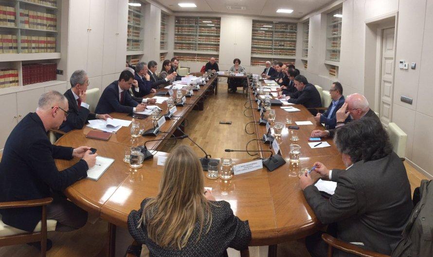 Alcaldes del Bages es reuneixen amb el ministeri de foment, a Madrid.